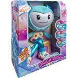 "Brightlings, Interactive Singing, Talking 15"" Plush, by Spin Master - Teal"