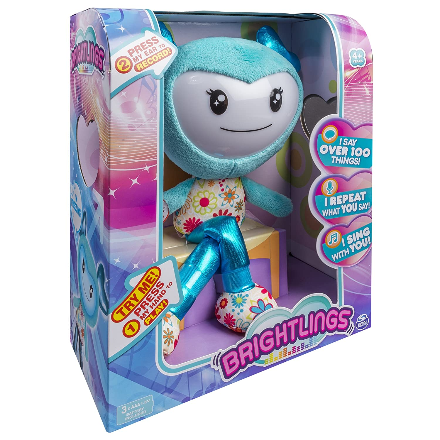 "Brightlings, Interactive Singing, Talking 15"" Plush - $9.78 (Reg. $29.99)"