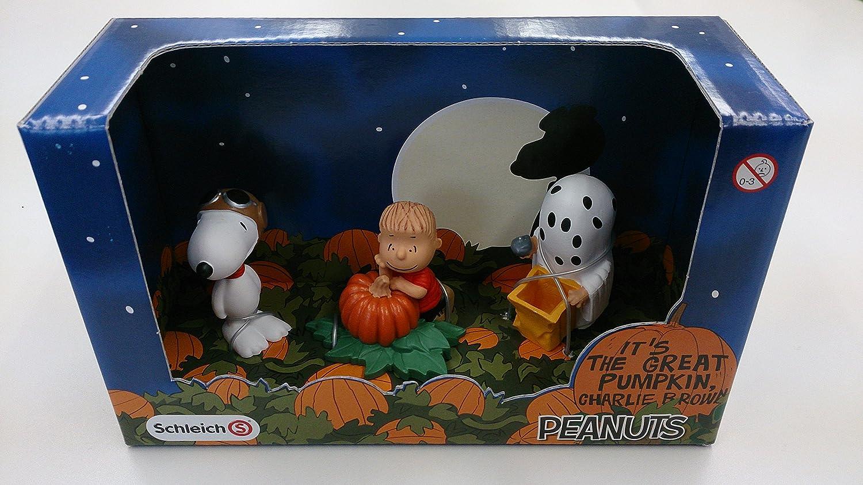 Schleich Sammelfiguren Peanuts Scenery Pack Halloween 22015 Linus mit Snoopy