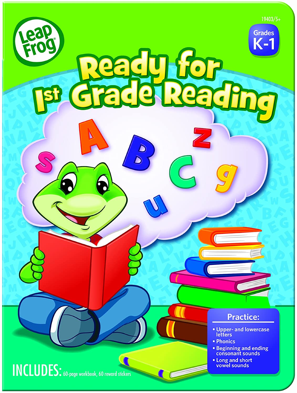 Workbooks 1st grade math workbooks : Amazon.com : LeapFrog Ready for 1st Grade Reading Workbook with 60 ...