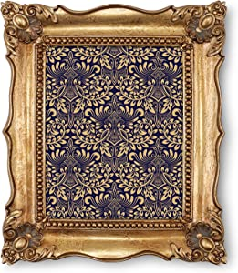 Picture Frames 8x10 Vintage 8 x 10 Picture Frame Wall and Tabletop Display, Antique Photo Frames in Bronze