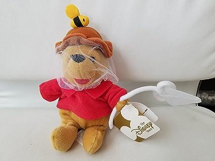 Groovy Winnie The Pooh 8 Plush Disney Beanie Bean Bag Toy Bee Keeper Ncnpc Chair Design For Home Ncnpcorg