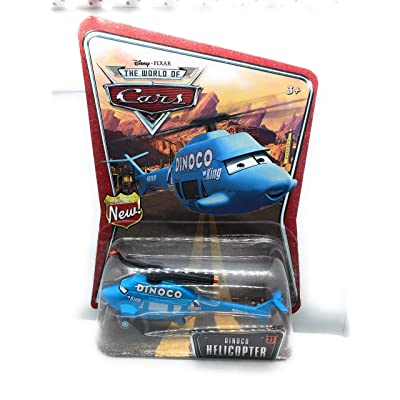 Dinoco Helicopter Disney World of Cars Edition 1:55 Scale Mattel: Toys & Games