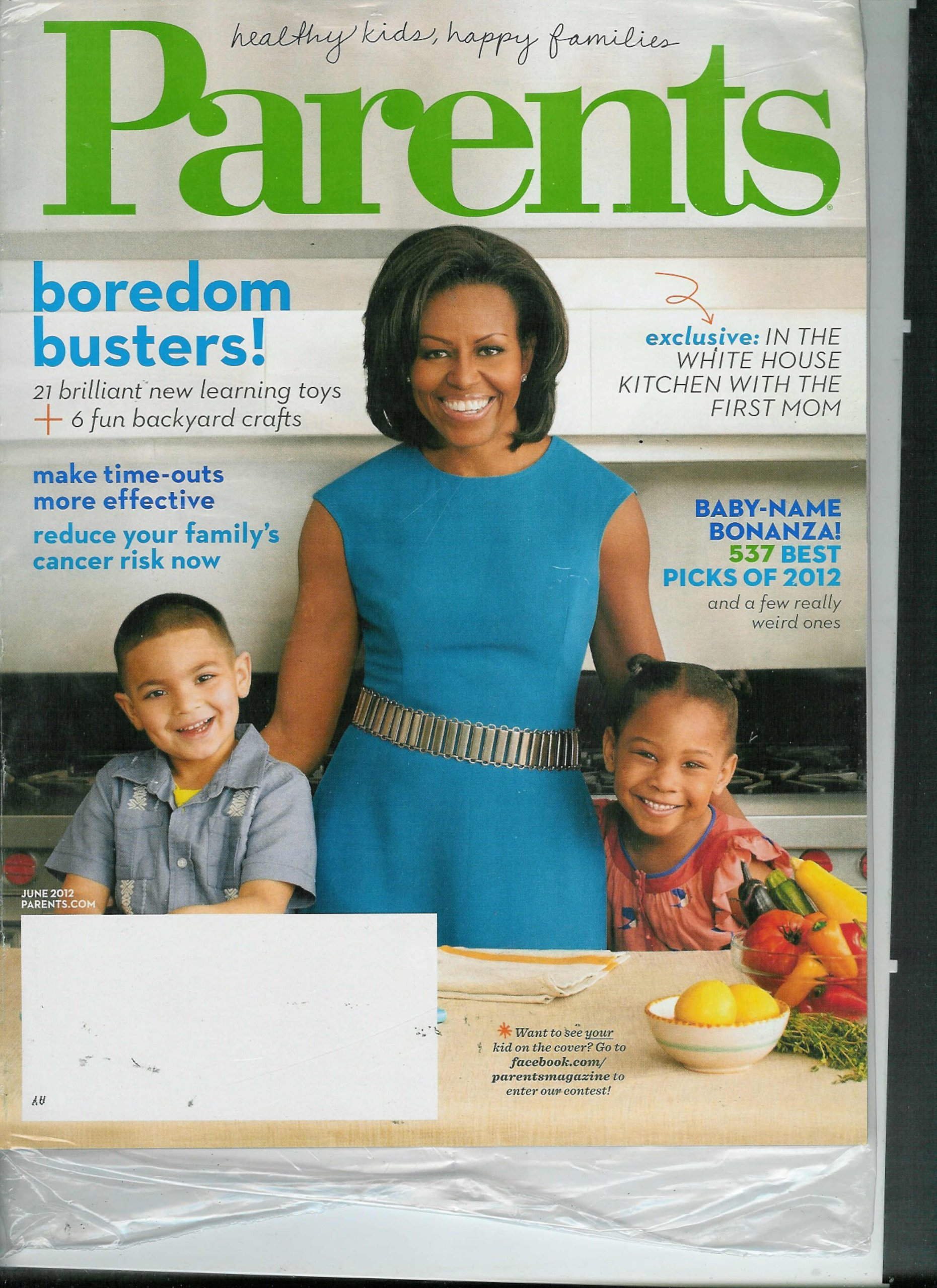 Download Parents Magazine June 2012: Exclusive: In the White House Kitchen with the First Mom Plus Boredom Busters & Fun Backyard Crafts ebook