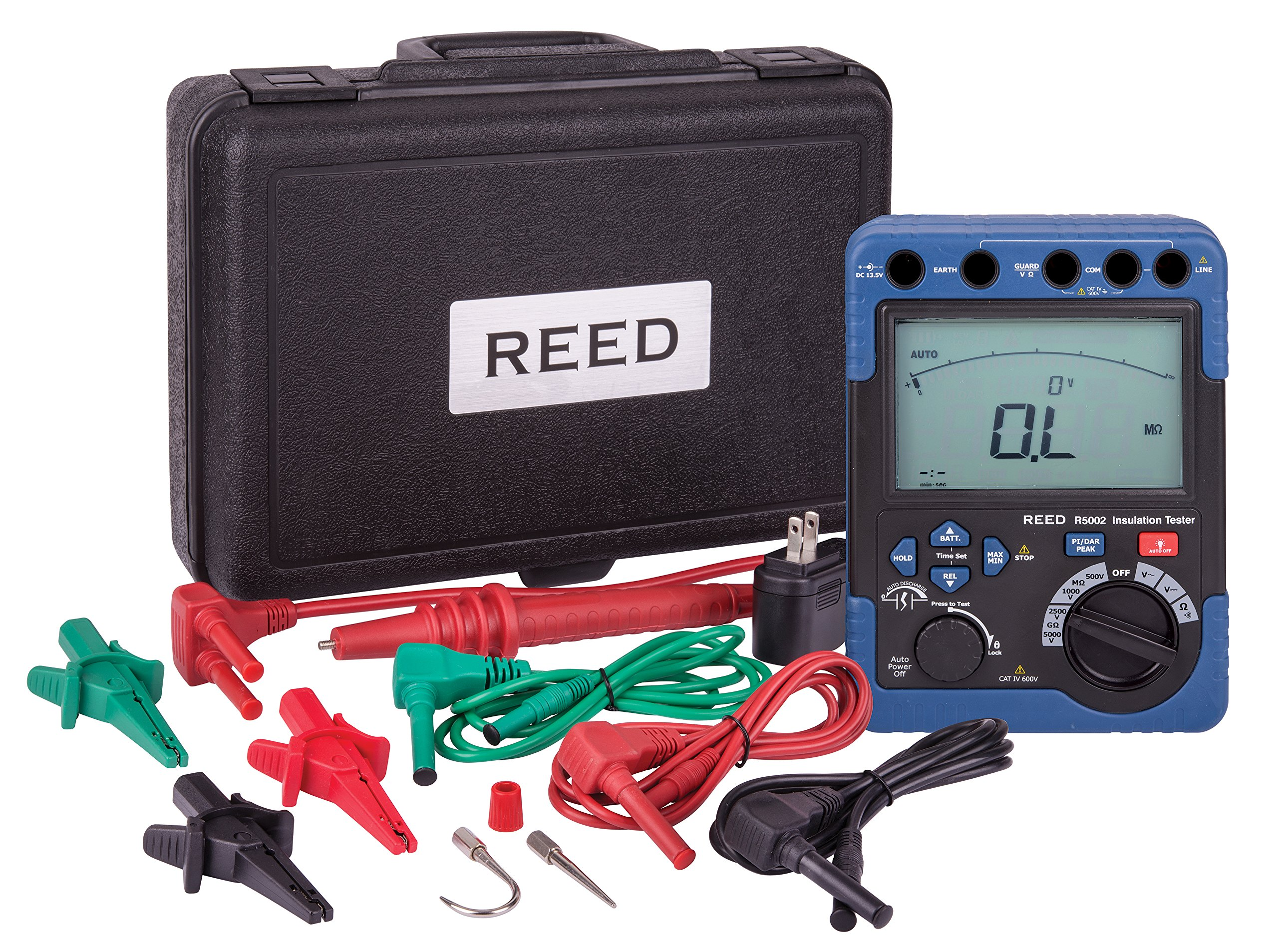 REED Instruments R5002 Digital High Voltage Insulation Tester by REED Instruments