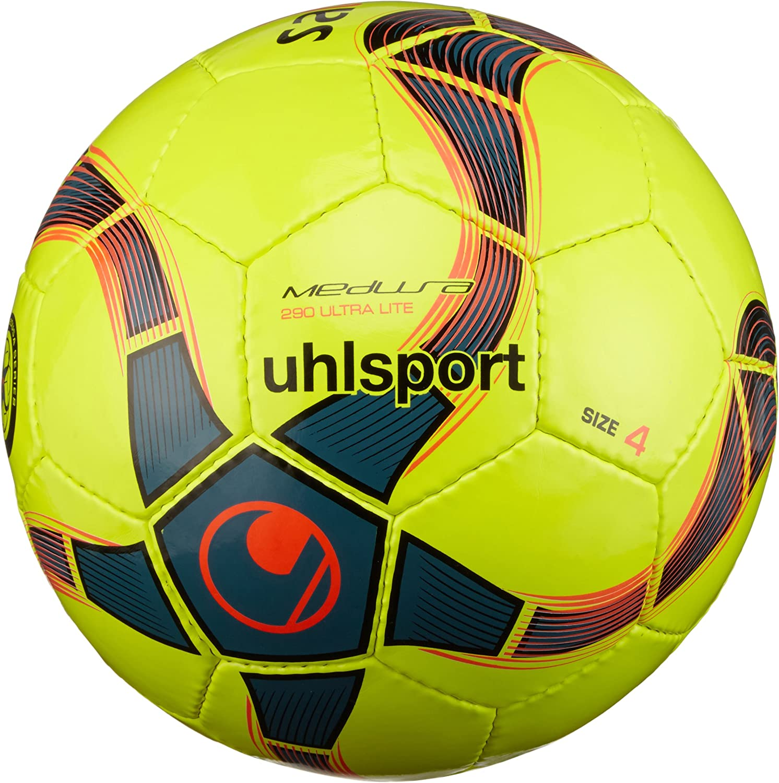 uhlsport Medusa Anteo 290 Ultra Lite Balón Futbol, Niños: Amazon ...