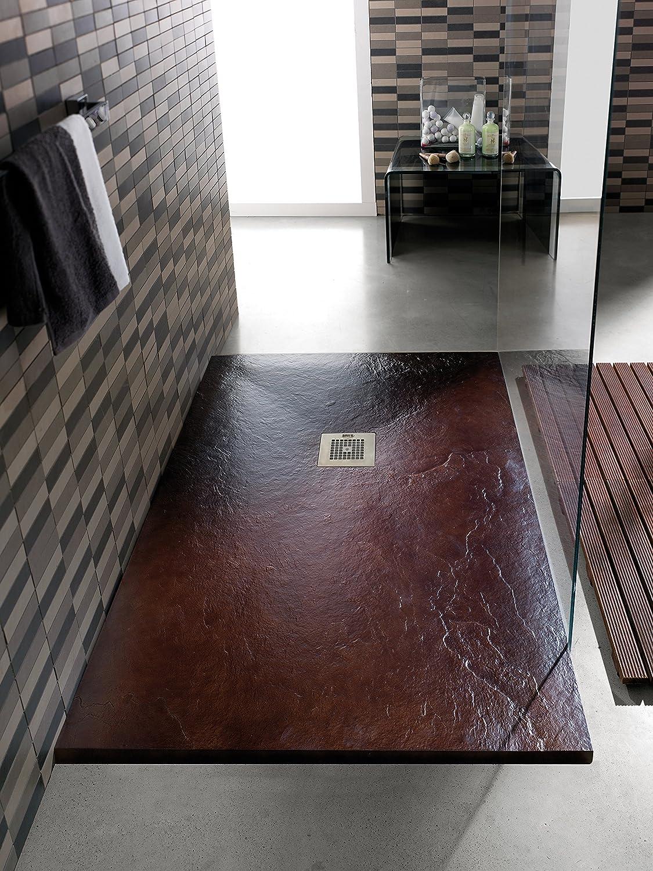 Iron Oxido Plato de Ducha 120 X 80 cm: Amazon.es: Bricolaje y herramientas