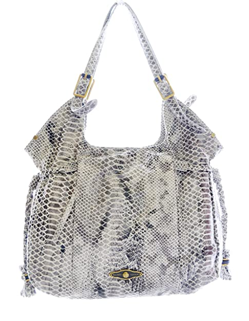 1a0200eab6 Elliott Lucca Sintra Leather Tote, Black/ White Exotic Snakeprint:  Amazon.ca: Shoes & Handbags