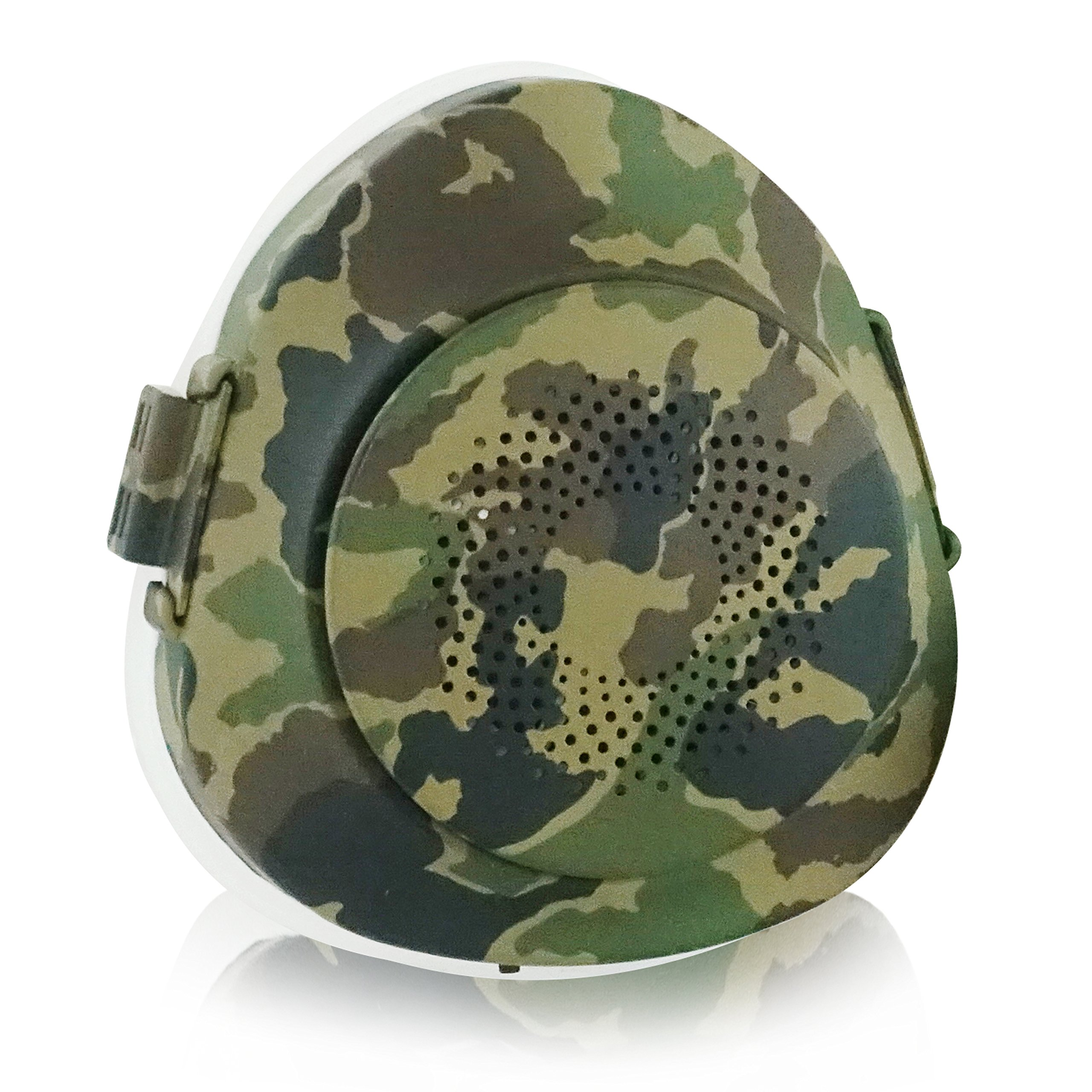 EPActive Fresh Air Purifying Mask N95/N99 Anti-Pollution Respirator with Active Fan for Prevention of PM 2.5, Odor, Dust, Smoke, Pollen, Mold, Allergen, Bacteria (Adult Medium, Camouflage) by CyberTech (Image #1)