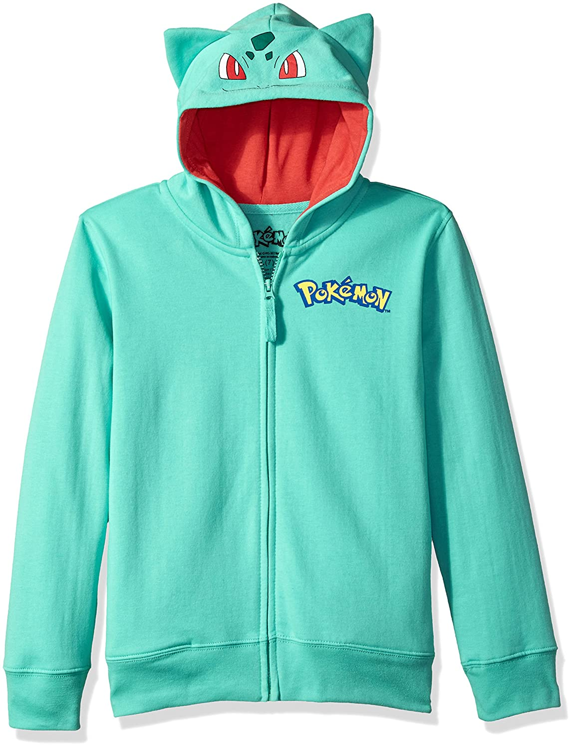 Pokemon boys Bulbasaur Costume Hoodie Freeze Children' s Apparel MUSB785-5B05-5B06