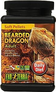 Exo Terra Soft Pellets Bearded Dragon Food, Reptile Food