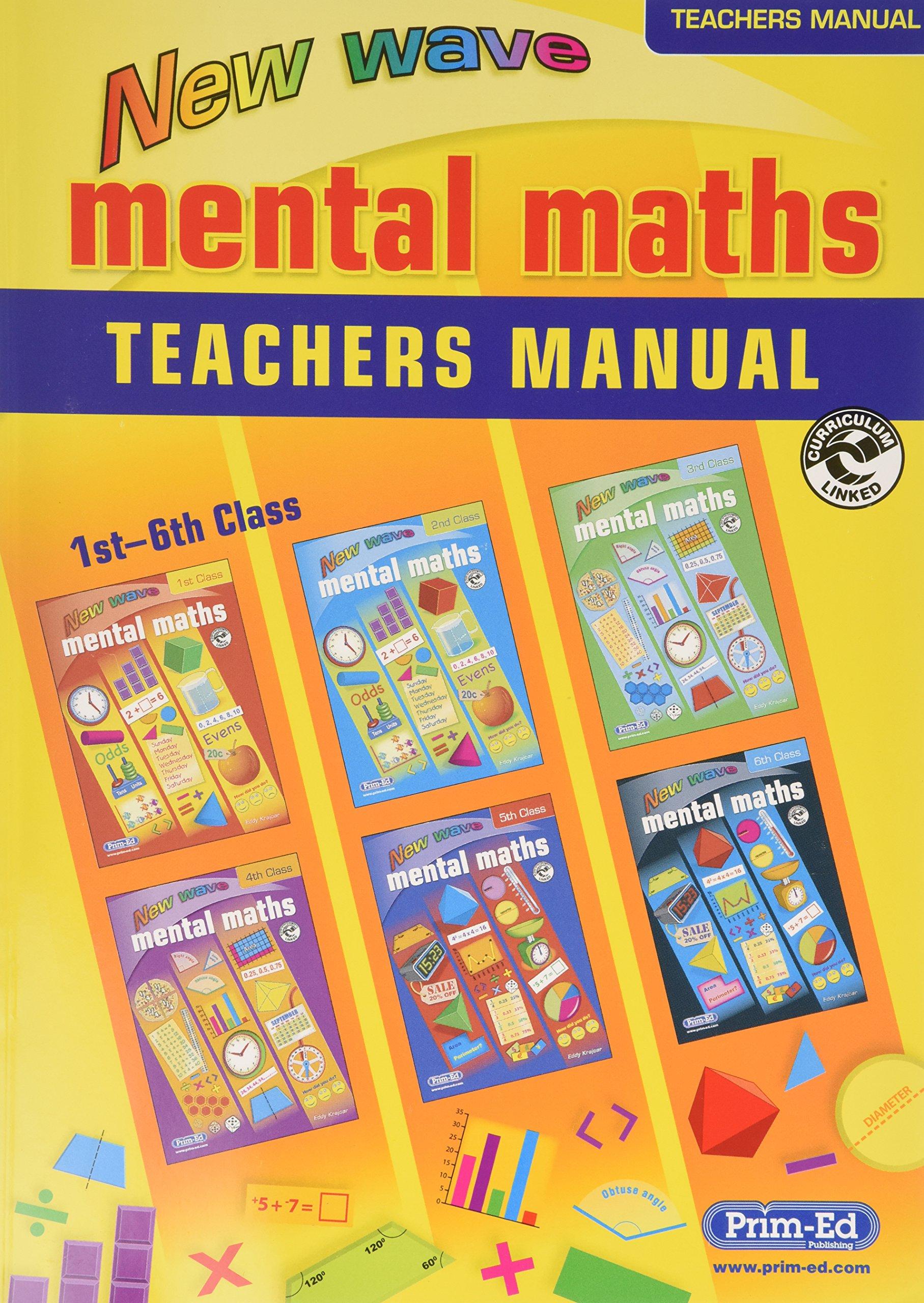 New Wave Mental Maths Teacher\'s Guide: Teacher Answer Book: Amazon ...