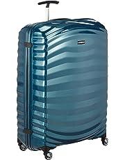 Samsonite Lite-Shock Spinner XL Valise, 81 cm, 124 L, Bleu (Petrol Blue)