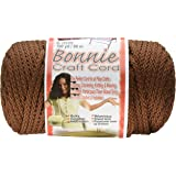 Pepperell Bonnie Macrame Craft Cord, 6mm 100-Yard, Almond