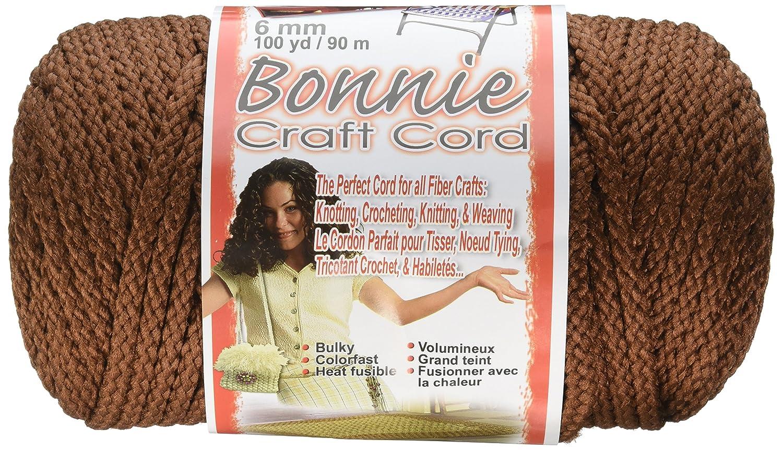 Pepperell Bonnie Macrame Craft Cord, 6mm 100-Yard, Almond BB6-100-008