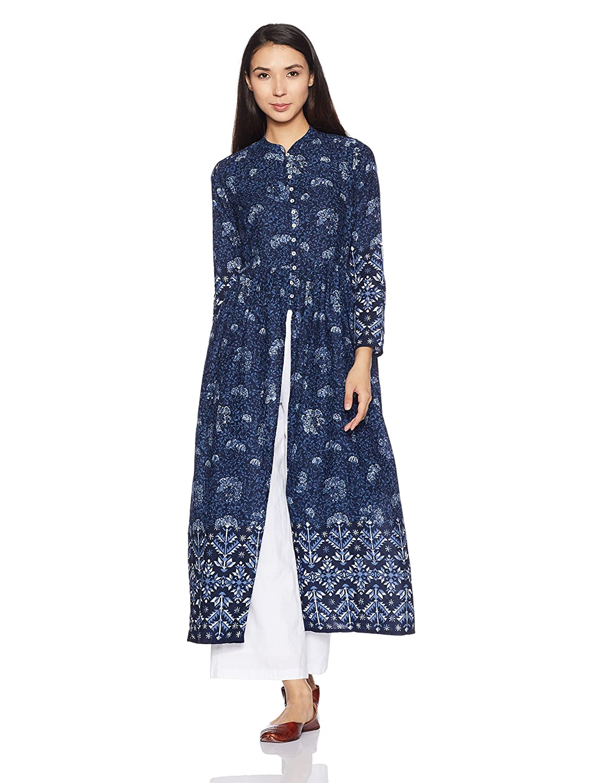 e41404d1b88 Vishudh Women s Anarkali Kurta  Amazon.in  Clothing   Accessories