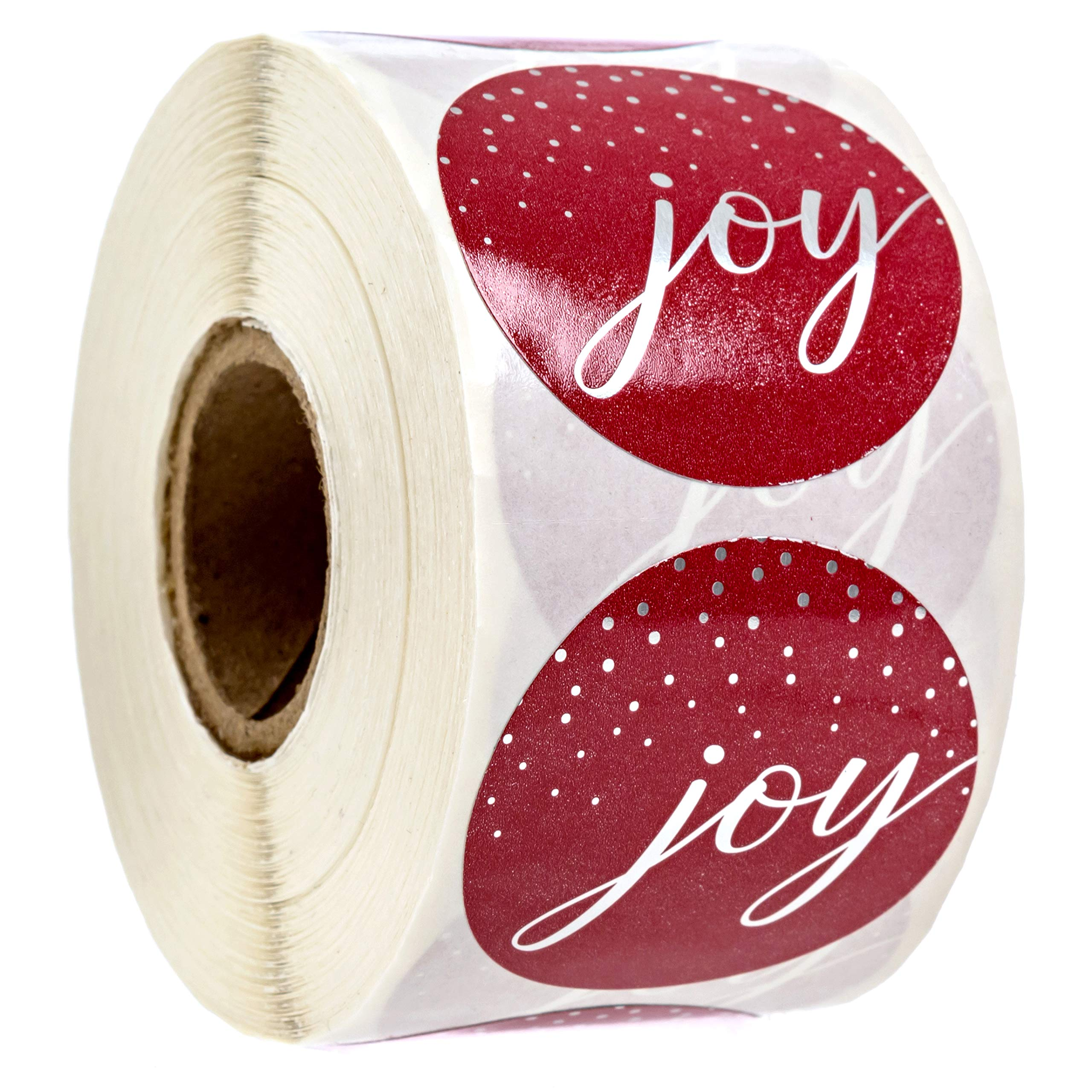 Joy Christmas Stickers/500 Christmas Tags by SBLABELS
