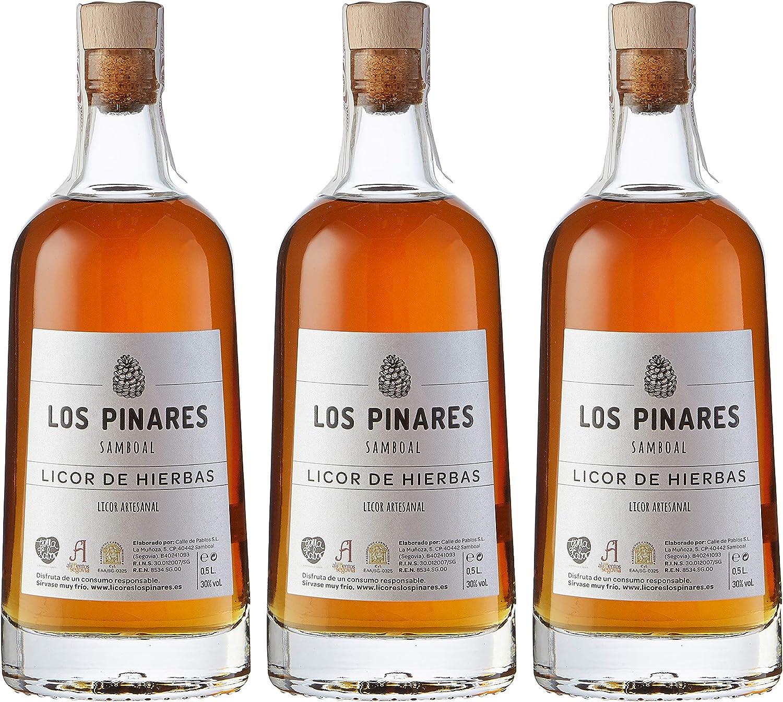 Los Pinares Licor De Hierbas - 3 botellas x 500 ml - Total ...