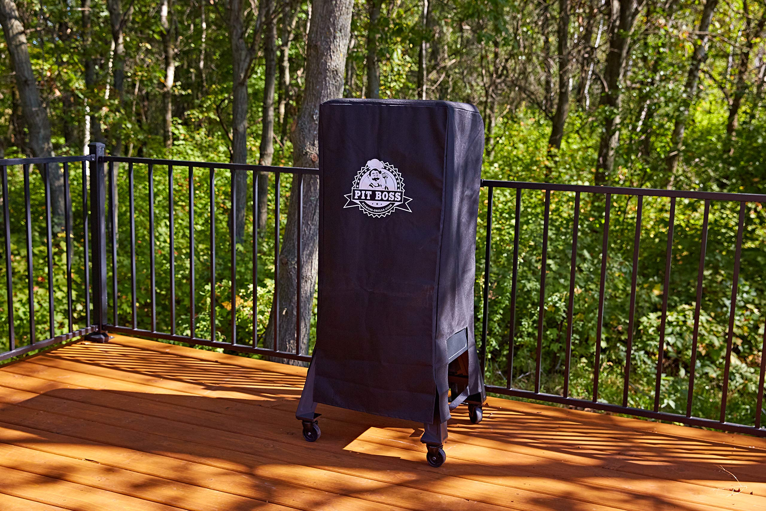 Pit Boss Grills 73350 Electric Smoker Cover, Black by Pit Boss Grills (Image #2)