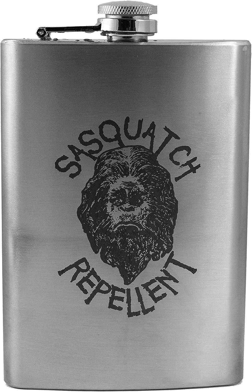 8oz Sasquatch Repellent Flask L1