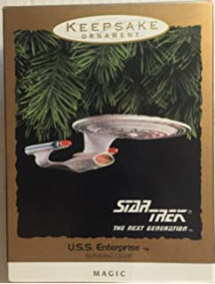 Amazon.com: Hallmark Keepsake Ornament Star Trek The Next Generation ...
