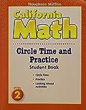 Mathmatics, Circle Time and Practice Book Level 2: Houghton Mifflin Mathmatics California (Hmm California Math 2008)