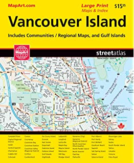 Vancouver Island SOUTH BC Waterproof Map: 1st Edition ... on large map of saskatchewan, large map of sc, large map of nunavut, large map of mi, large map of ms, large map of nova scotia, large map of quebec, large map of ky, large map of nm,