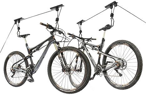 Ceiling Bike Rack >> Amazon Com 2x Storage Hoist Surfboard Kayak Bicycle Rack Bike Lift