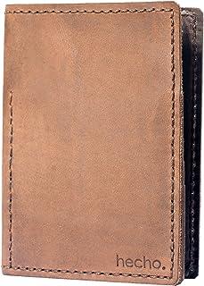hecho. , Custodia per passaporto  Legno scuro
