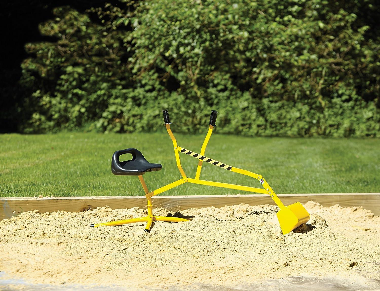 amazon com big dig ride on working crane toys u0026 games