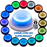 LED Under Table 16 Colors Change Wedding Decoration Lights, For Parties,  Events, Birthdays
