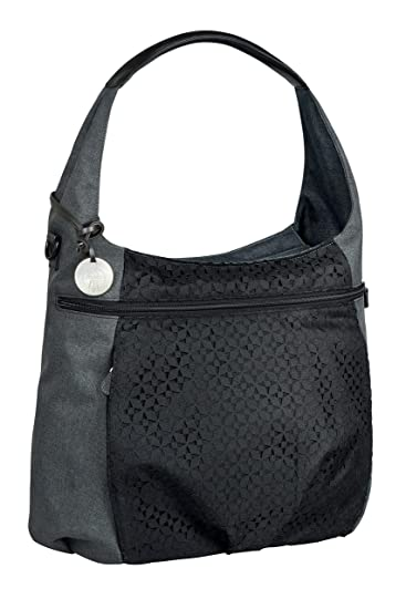 d5563ead8be7 Lassig Casual Hobo Style Diaper Shoulder Bag Handbag Tote-Bag Includes  Matching Insulated Bottle...