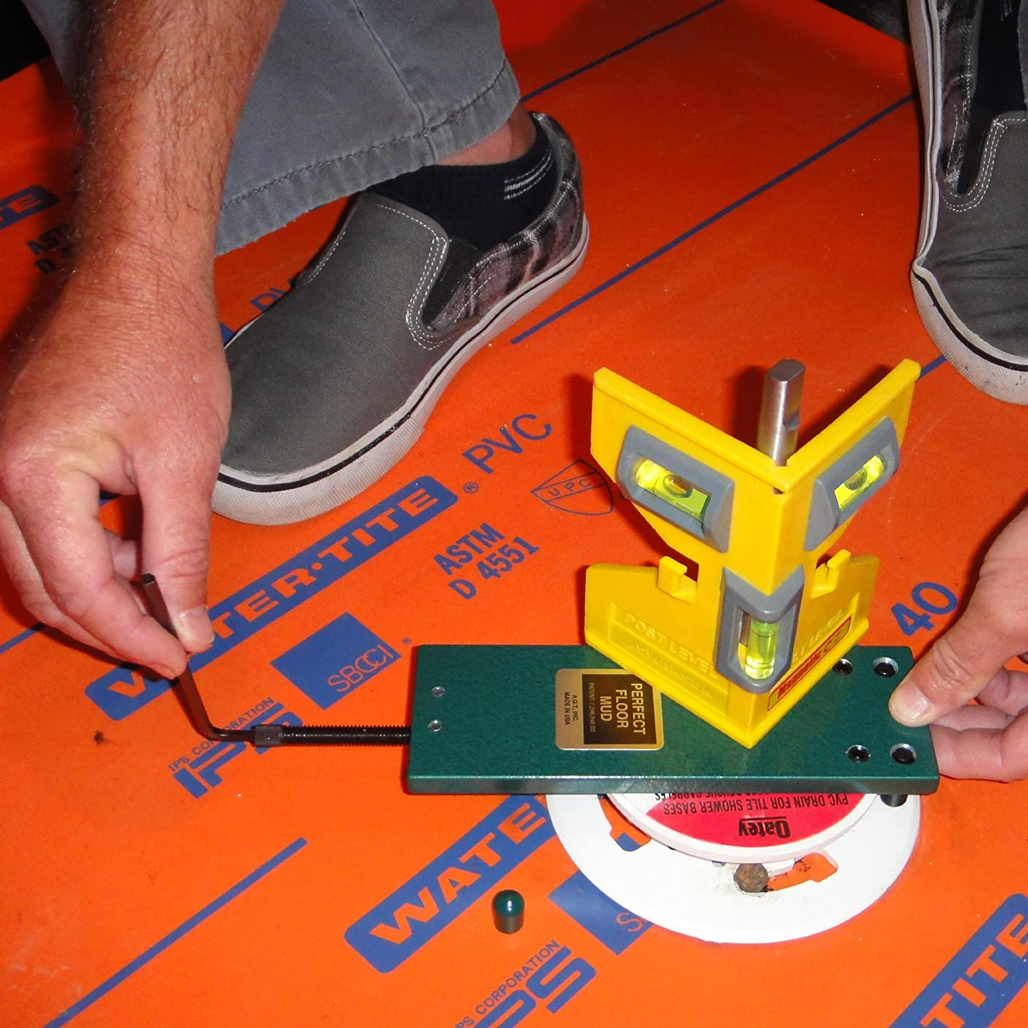 A.Q.T. Shower Floor Mud Forming Device M3a   Construction Marking Tools    Amazon.com