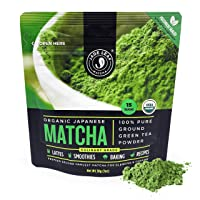 Jade Leaf Organic Matcha Green Tea Powder, 30 g (1 oz)