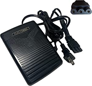 HimaPro Foot Control Pedal with Cord #395724-65 for Janome, Kenmore, and Babylock Sewing Machines