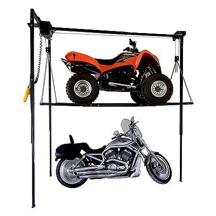 Garage Storage Lift 1100 lb 4u0027 x 8u0027 Platform for Motorcycle ATV Snowmobile  sc 1 st  Amazon.com & Amazon.com: Garage Storage Lift 1100 lb 4u0027 x 8u0027 Platform for ...