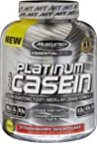 MuscleTech Platinum 100% Casein, Slow-Digesting 100% Milcellar Casein Formula, Strawberry Shortcake, 3.62 lbs (1.64kg)