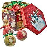 Snowman Family Ornament Box Set