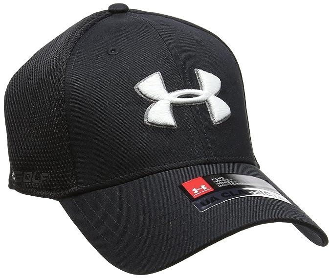 9af17a6e Amazon.com: Under Armour Men's Golf Mesh Stretch 2.0 Cap: Clothing