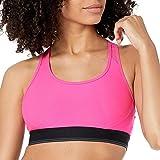 Amazon Essentials Women's Control Tech Racerback Sports Bra with Power Mesh Back