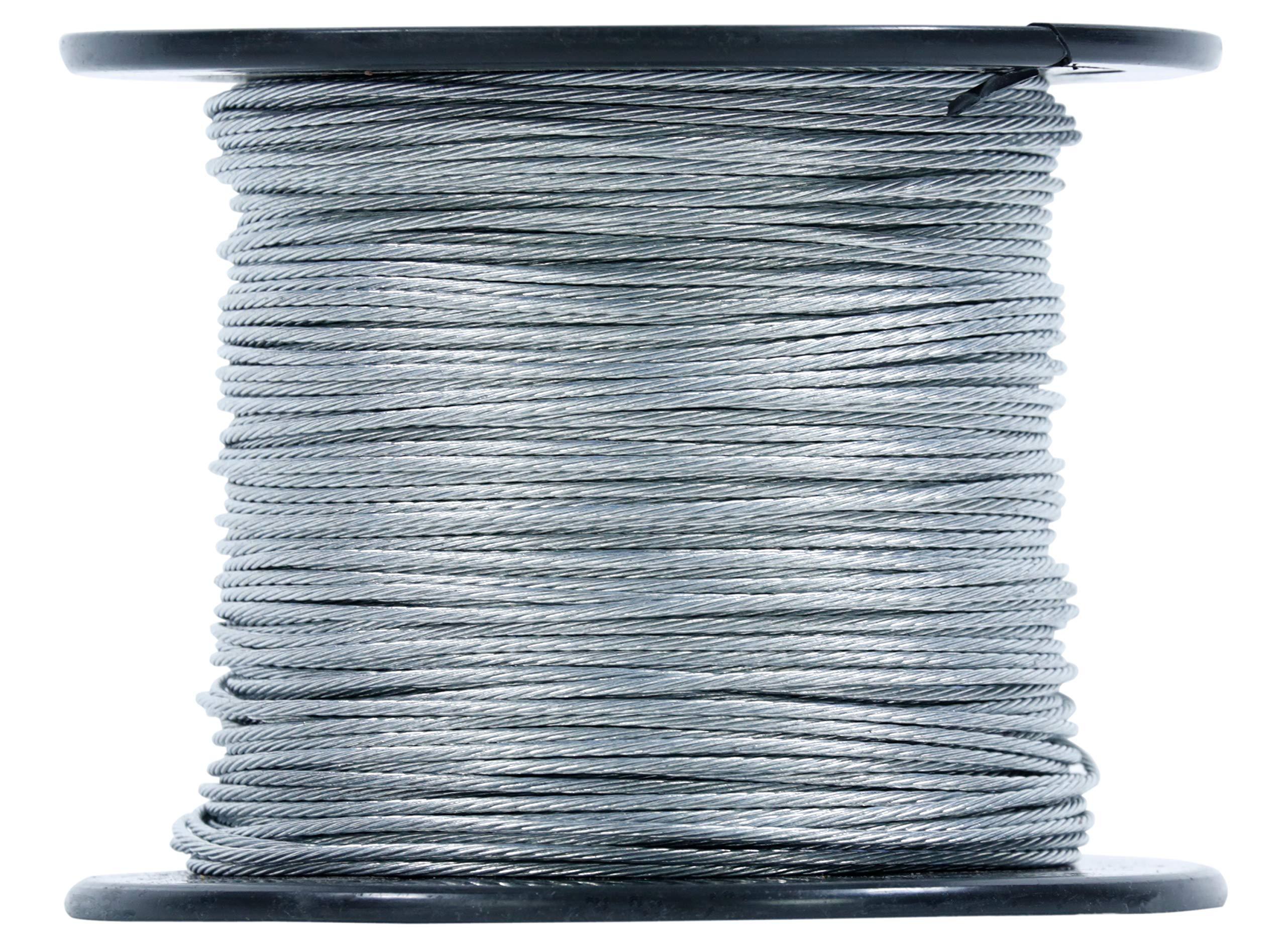 Channel Master CM-9081 Guy Wire 500 Foot Spool Galvanized Steel