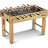 "MD Sports SOC048_047M Foosball Table, Light Wood, 48"""
