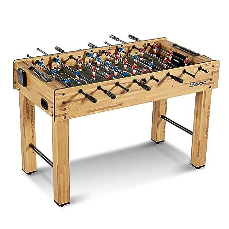 MD Sports SOC048_047M Foosball Table, Light Wood, 48u0026quot;
