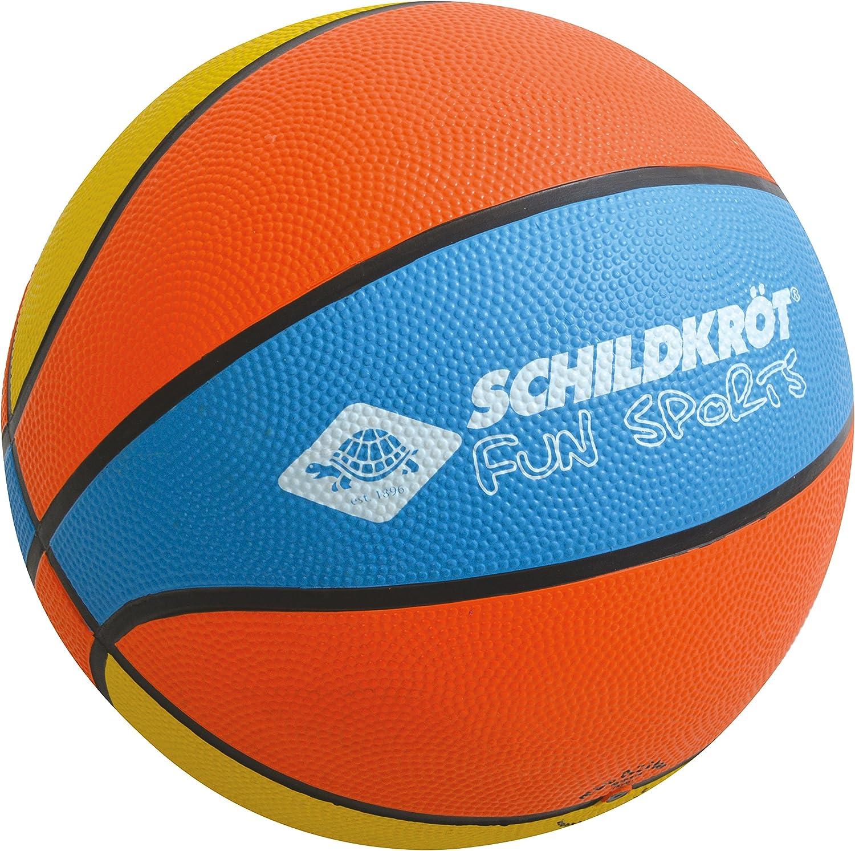 Naranja//Amarillo//Azul Schildkr/öt Funsports Bal/ón de Baloncesto