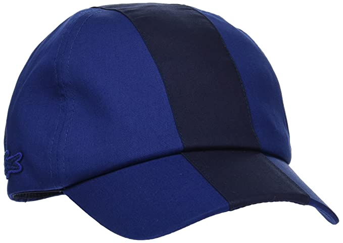 a542e35def Lacoste RK7869 Casquette de Baseball Bleu (Methylene/Marine) Large (Taille  Fabricant :