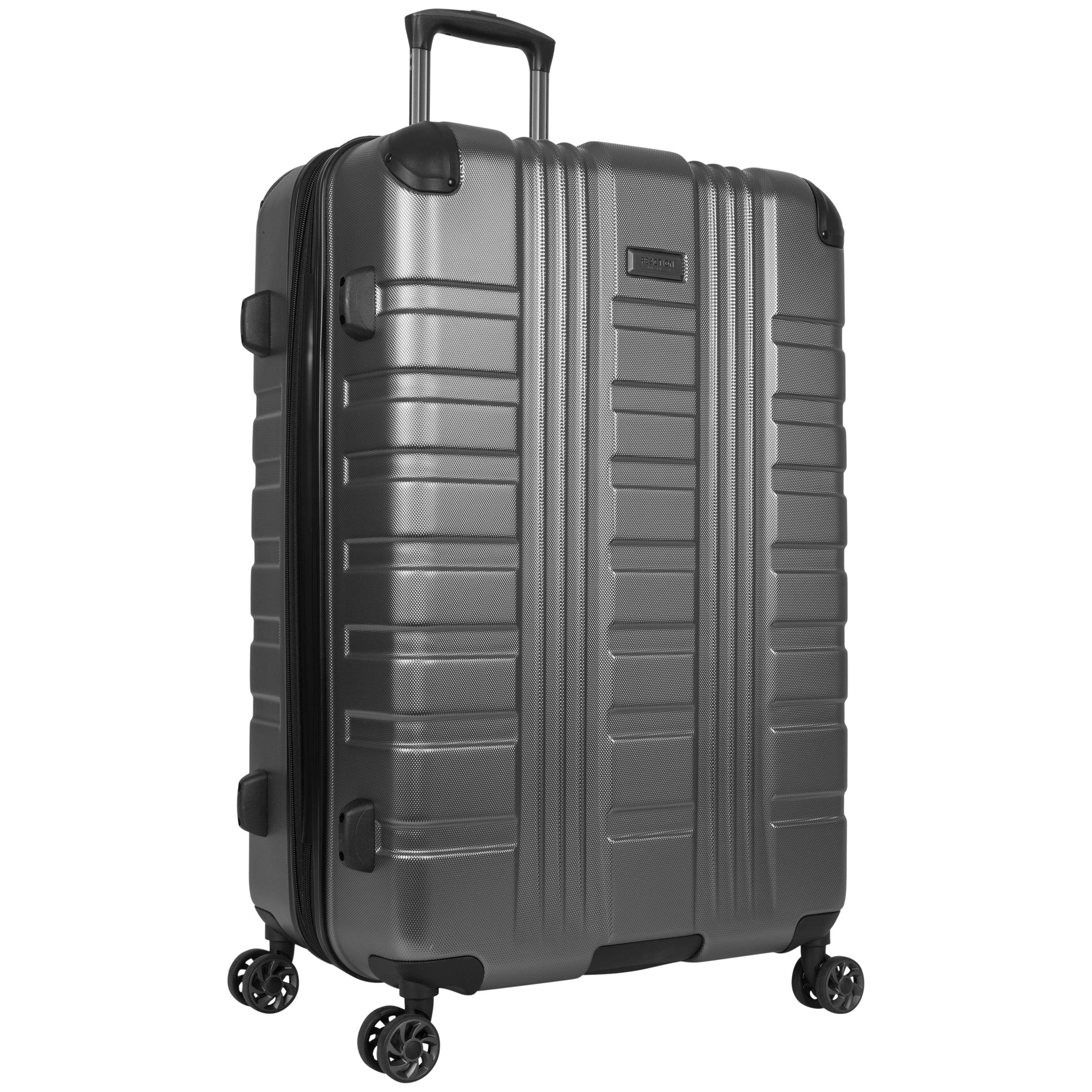 Kenneth Cole Reaction Scott's Corner 28'' Hardside Expandable Spinner 8-Wheel Luggage with TSA Locks, Charcoal