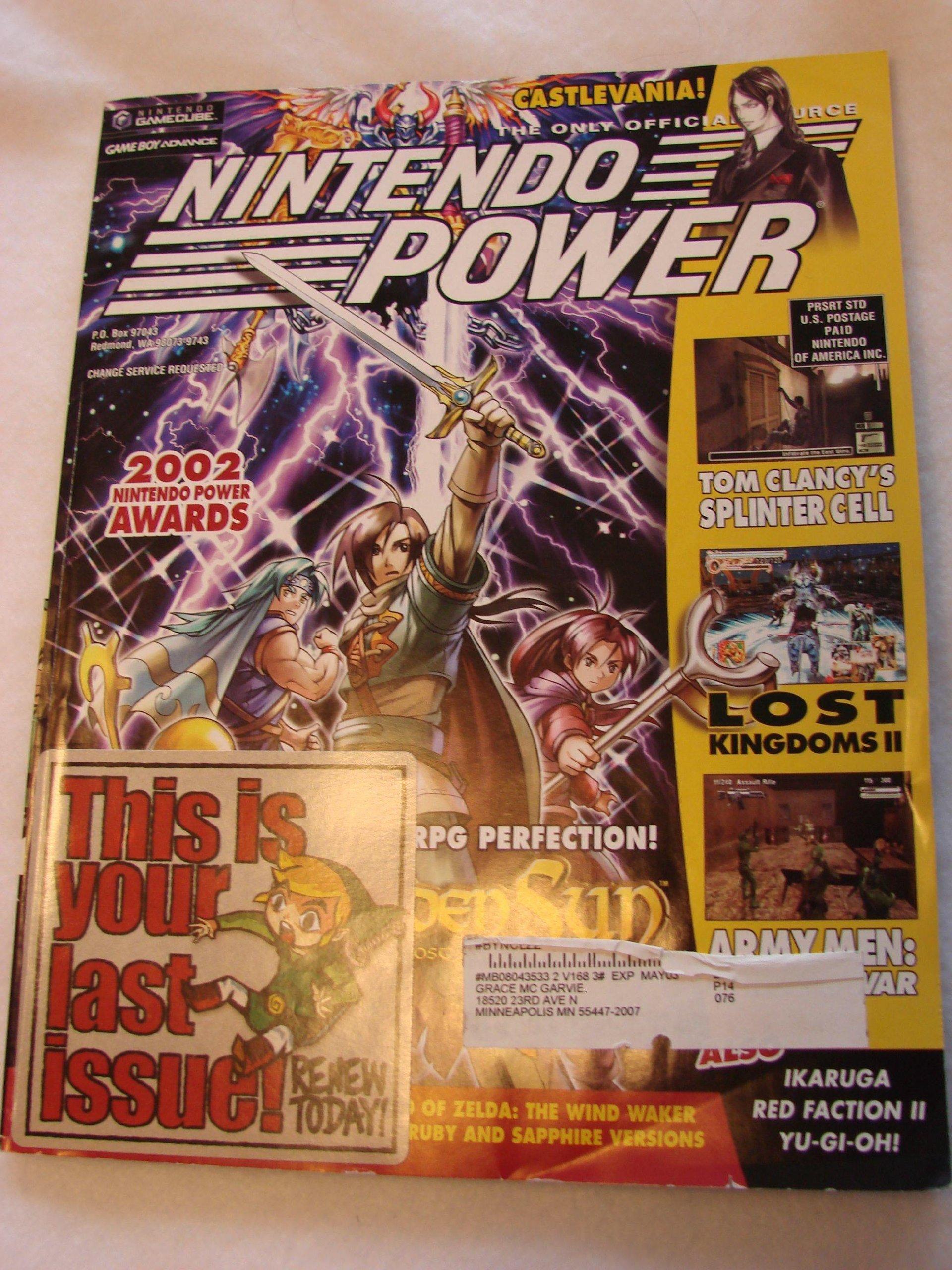 Download Nintendo Power Magazine - May 2003 - Volume 168 ebook