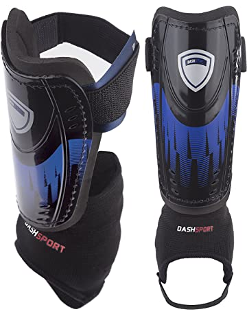 DashSport Soccer Shin Guards -Youth Sizes Best Kids Soccer Equipment with  Ankle Sleeves - Great efc5e2dbe2