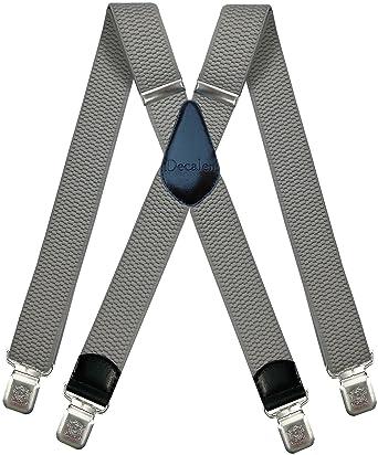 e2f197ef0ca3 Bretelles pour Hommes et Femmes Une Taille Convient Tous Les Clips Forts  Style X Diverses Couleurs