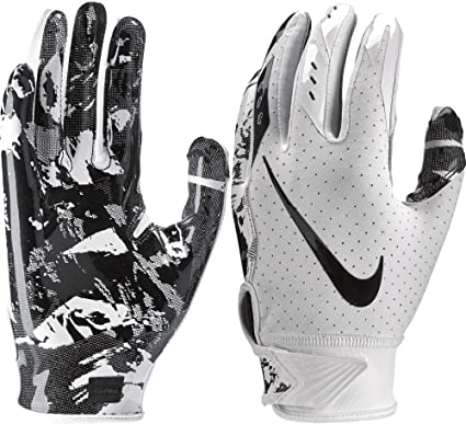 34ddd7019a5 Amazon.com   Nike Youth Vapor Jet 5.0 Receiver Gloves 2018   Sports ...
